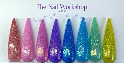 Spring collection with glitter 2021 The Nail Workshop