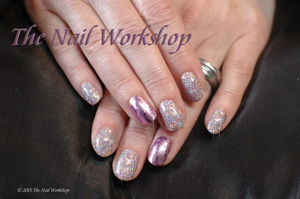 Gel II Bare Bear and Glitter 4