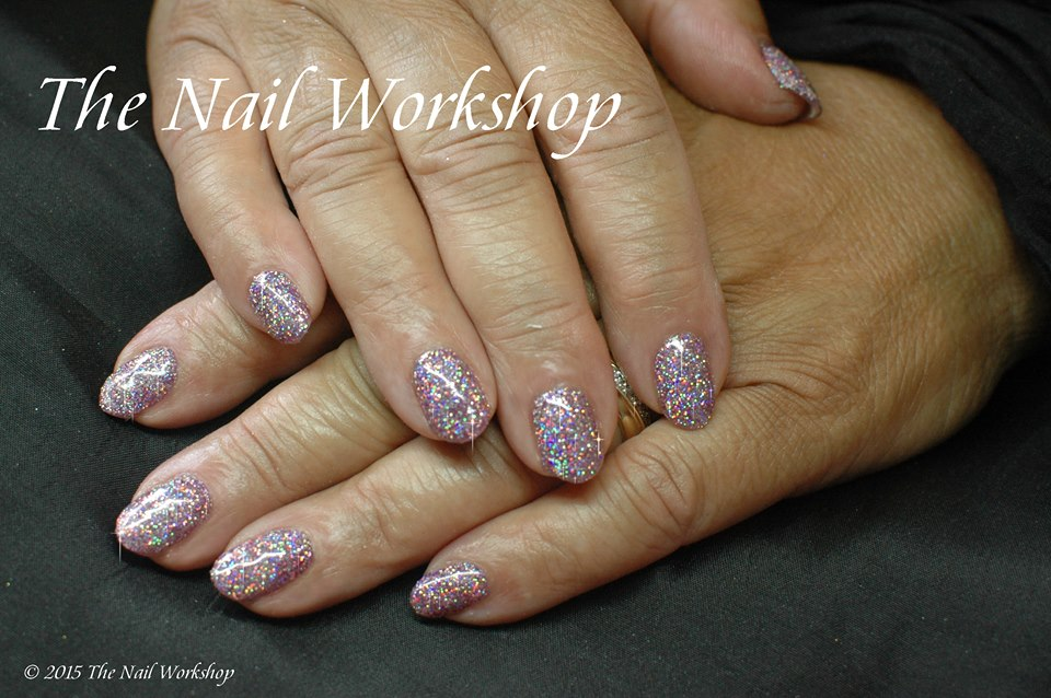Gel II Bunny Hopping and Glitter 1
