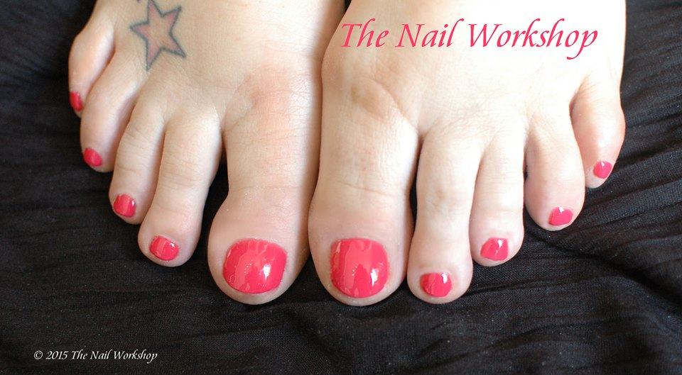 Gel II Coral Pedicure
