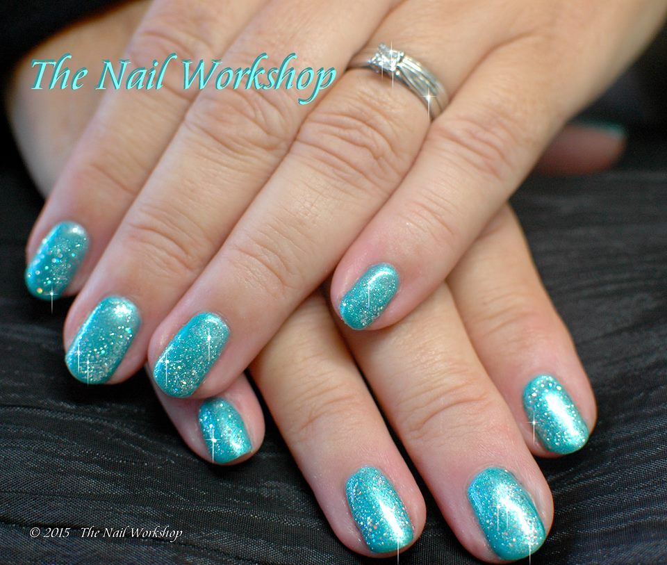Gel II Deep Ocean and Glitter