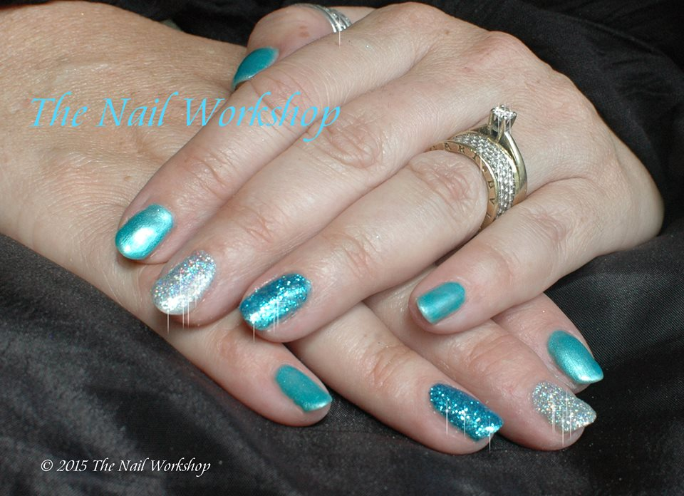 Gel II Deep Ocean with Glitter 2