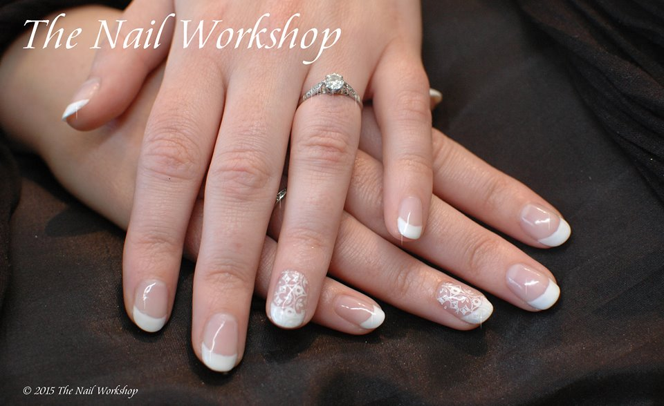 Gel II French Bridal Manicure