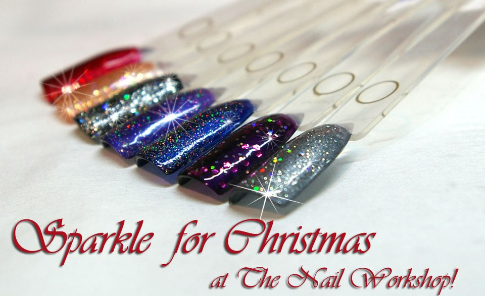 Gelish Christmas Glitter Swatches