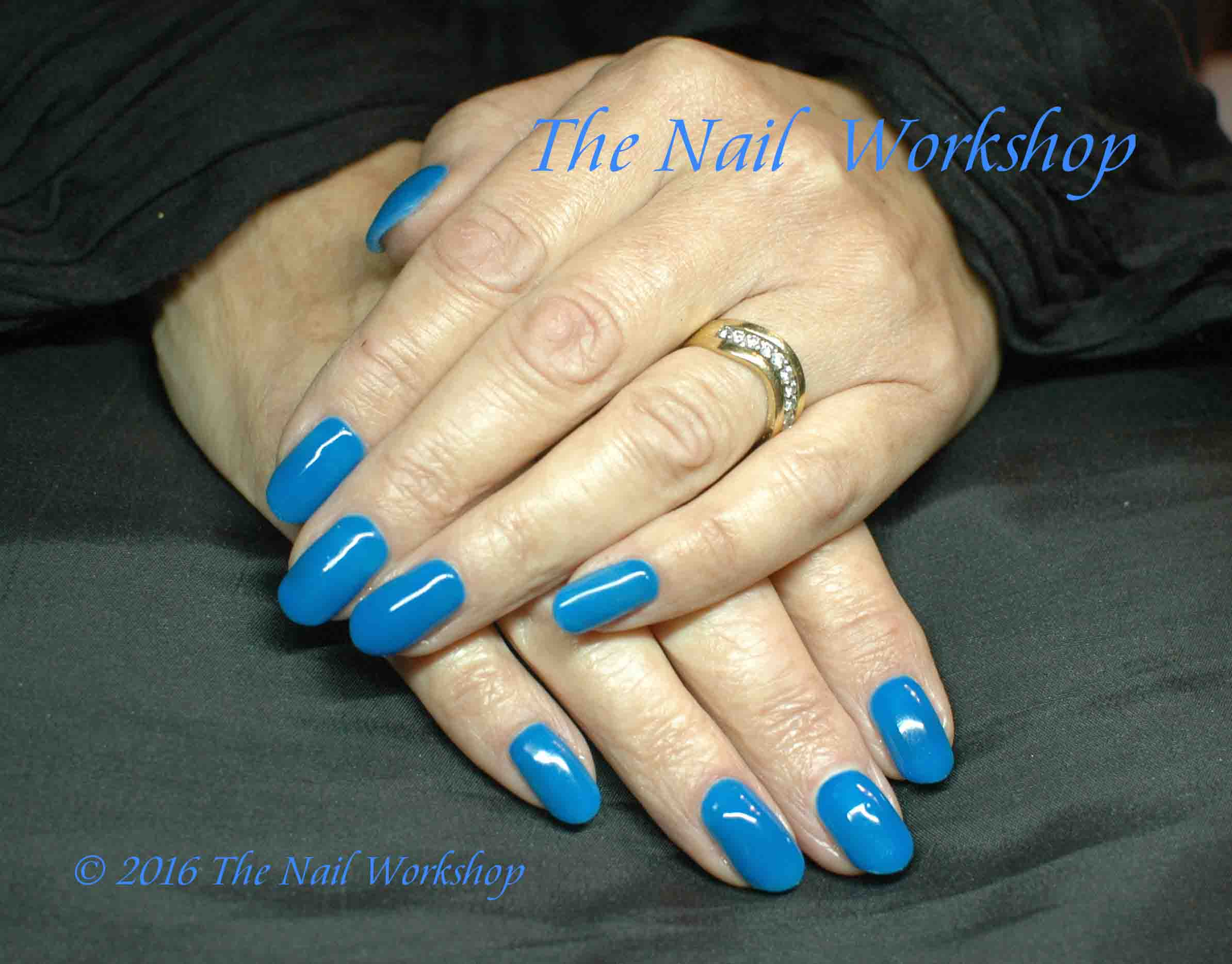 Gelish Ooba Ooba Blue Gel Polish