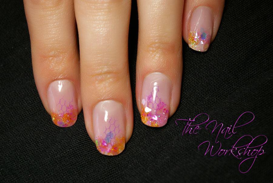 Summer nails prohesion acryllic encapsulated glitter prohesion encapsulated glitter prinsesfo Choice Image