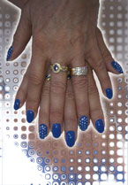 Sparkle Nails - Click here to enlarge this image