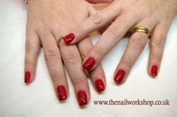 Red y To Wear Gelish - Click here to enlarge this image