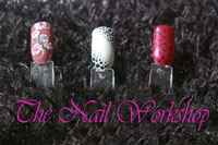 Nail Harmony Gelish Dotty swatchess
