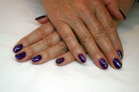 Gelish with effects - Click here to enlarge this image