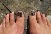 Metallic Lepoardskin Minx Toes - Click here to enlarge this image