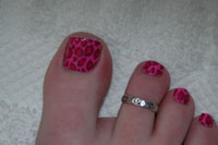 Pink Leopard Minx - Click here to enlarge this image