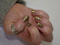 Sharon's Nails with Don't be so particular Magneto - Click here to enlarge this image
